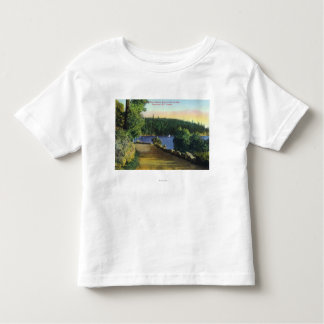 North Shore Marine Drive View of Garrow Bay Toddler T-Shirt