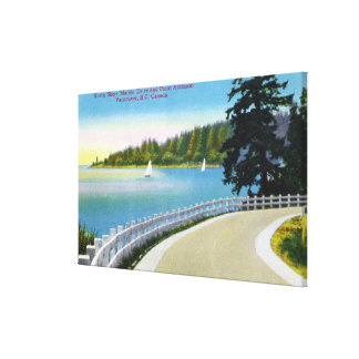 North Shore Marine Drive View of Point Atkinson Canvas Print