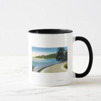 North Shore Marine Drive View of Point Atkinson Mug