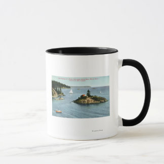 North Shore Marine Drive View of Point Grey Mug