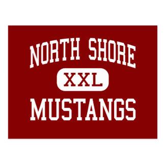 North Shore - Mustangs - High - Houston Texas Postcard