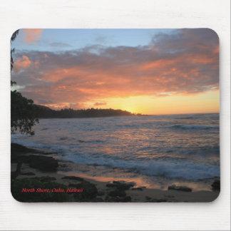 North Shore Oahu Surf Mouse Pad