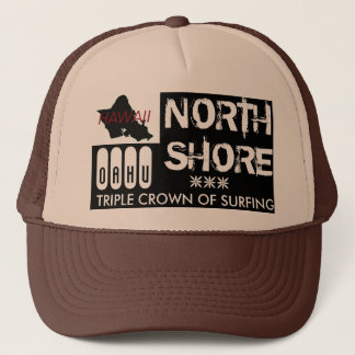 NORTH SHORE OAHU TRUCKER HAT