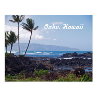 North Shore on the island of Oahu in Hawaii Postcard