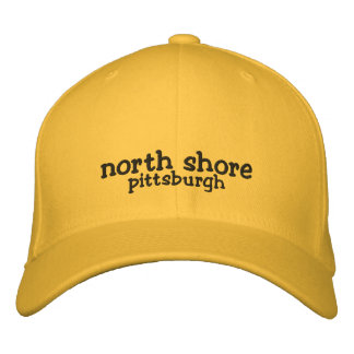 North Shore Pittsburgh Hat Embroidered Baseball Cap