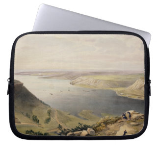 North Side of the Harbour of Sebastopol, plate fro Laptop Sleeve