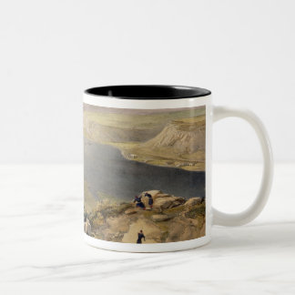 North Side of the Harbour of Sebastopol, plate fro Two-Tone Coffee Mug