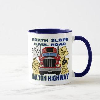 North Slope Haul Road Dalton Highway Mug