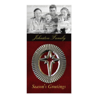 North Star Christmas Photo Cards