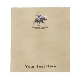 North Star (Moose) Polo Club Notepad