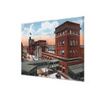 North Station - Railroad Depot Canvas Print