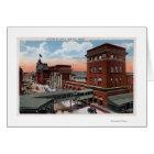 North Station - Railroad Depot Card