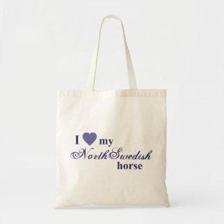North Swedish horse Budget Tote Bag