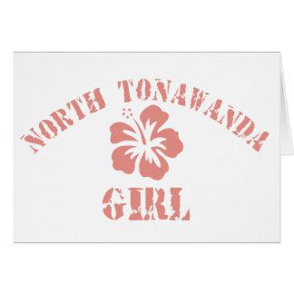 North Tonawanda Pink Girl Card