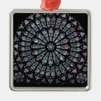 North transept rose window christmas ornament