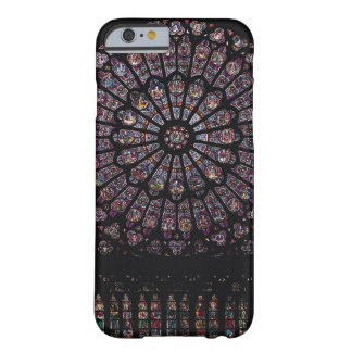 North transept rose window depicting the Virgin an Barely There iPhone 6 Case