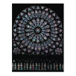 North transept rose window post cards