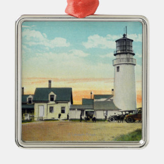 North Truro Highland Lighthouse View Christmas Ornament