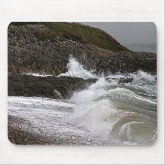North Wales Coastline Mouse Pad