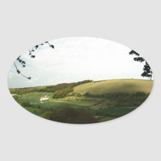 North Wessex Downs Oval Sticker