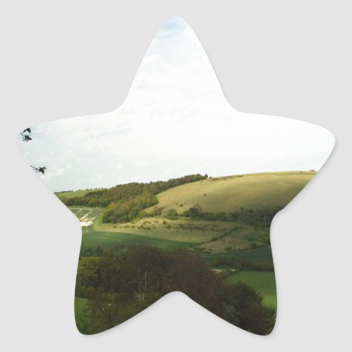 North Wessex Downs Star Sticker