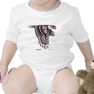 North West Coast Native Eagle Rompers