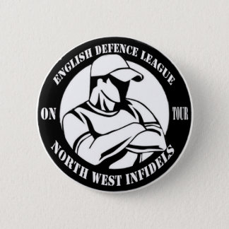 North West Infidels 6 Cm Round Badge