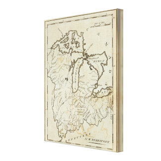 North West Territory Canvas Print