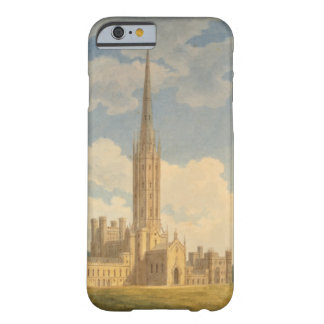 North-west view of Fonthill Abbey (w/c on paper) Barely There iPhone 6 Case