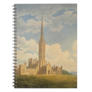 North-west view of Fonthill Abbey (w/c on paper) Notebook
