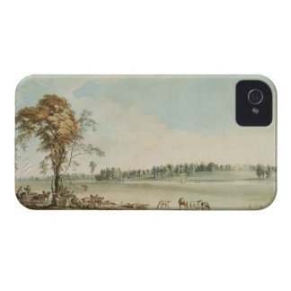 North West View of Wakefield Lodge in Whittlebury iPhone 4 Cover