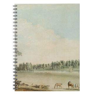 North West View of Wakefield Lodge in Whittlebury Spiral Note Books