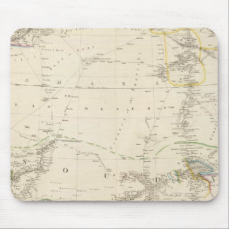 North Western Africa Mouse Mat