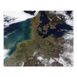 North Western Europe Photo Print