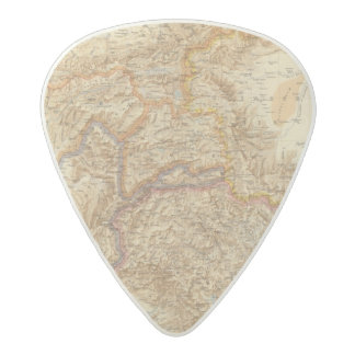 North Western Frontier of India Acetal Guitar Pick