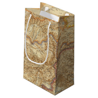 North Western Frontier of India Small Gift Bag