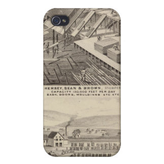 North Western Mills of Hersey, Minnesota iPhone 4 Cover