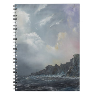 North wind pictures spiral notebook
