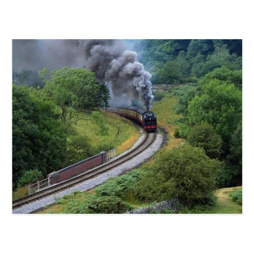 North Yorkshire Moors Railway, England Post Cards