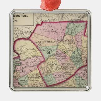 Northampton, Carbon, Monroe, Lehigh counties Christmas Ornament