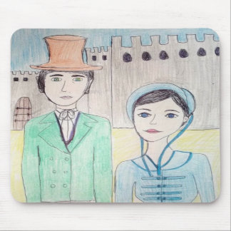 Northanger Abbey Mouse Pad