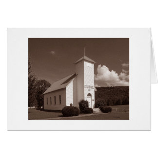 Northcutts Cove LDS Church Sepia version Cards