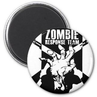 Northeast Indiana Zombie Response Logo 6 Cm Round Magnet
