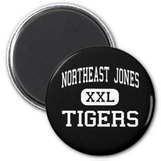 Northeast Jones - Tigers - High - Laurel 6 Cm Round Magnet