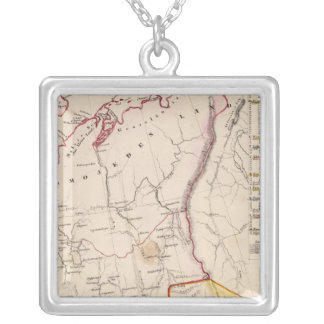 Northeast Russia 2 Silver Plated Necklace