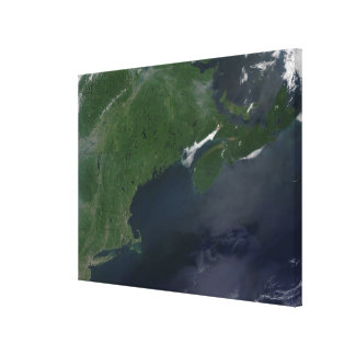Northeast United States and Canada Canvas Print