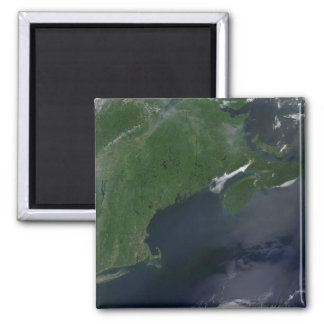Northeast United States and Canada Square Magnet