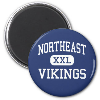 Northeast - Vikings - High - Pride Louisiana Refrigerator Magnets