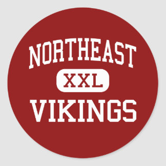 Northeast - Vikings - High - Saint Petersburg Round Stickers