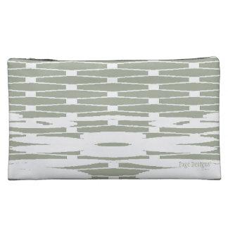 NorthEast_Winter(c) Fabric -Sueded Med Cosemtics Makeup Bags
